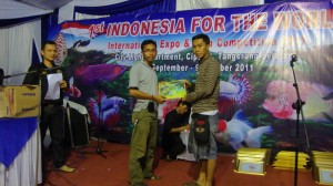 DSC01262 300x168 1rst Winner at Indonesian Fish for the World