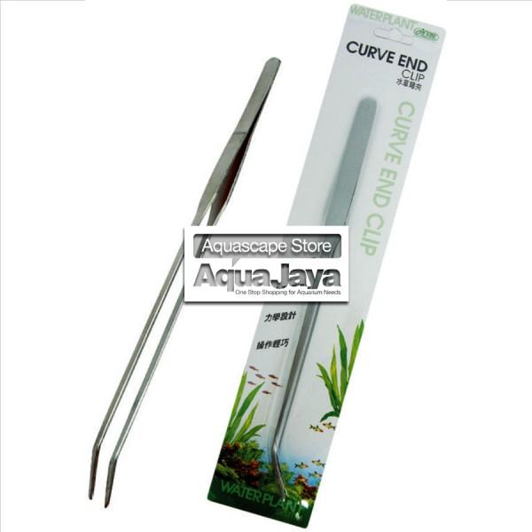 ista-curve-end-clip-tweezers-pinset-bengkok-aquascape