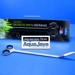 up-aquaworld-stainless-plant-scissors-curve-g-023-gunting-bengkok1