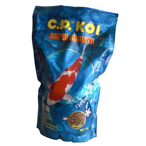 C P Koi Super Growth Pakan Ikan Koi Size Medium Aquajaya